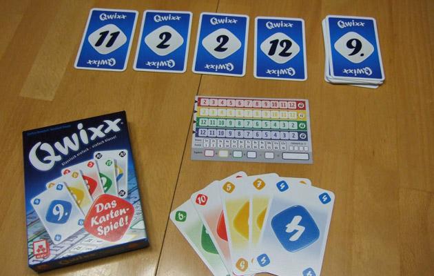 Das Spiel Qwixx ist sehr interessant