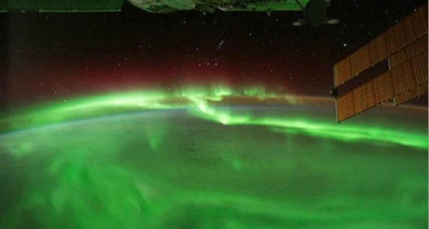 Astronauts capture vivid Aurora display from International Space Station