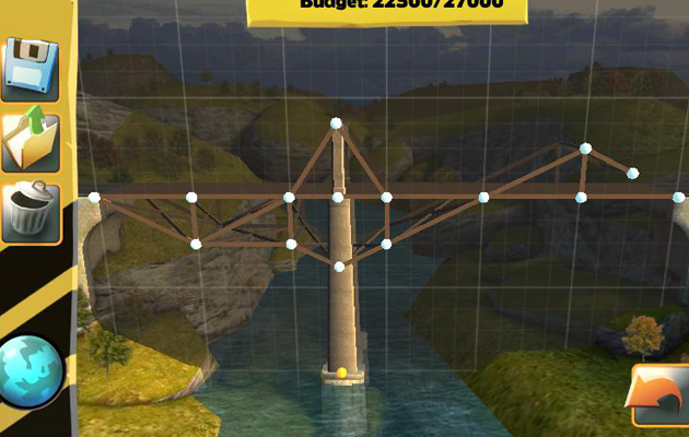 Das Spiel: Bridge Constructor